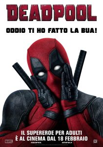"Poster for the movie ""Deadpool"""