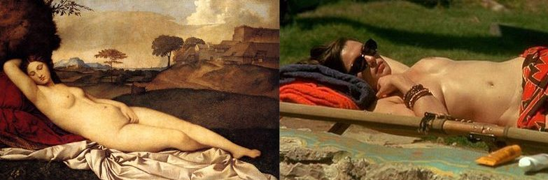 Sleeping Venus, Stealing Beauty by Bernardo Bertolucci .