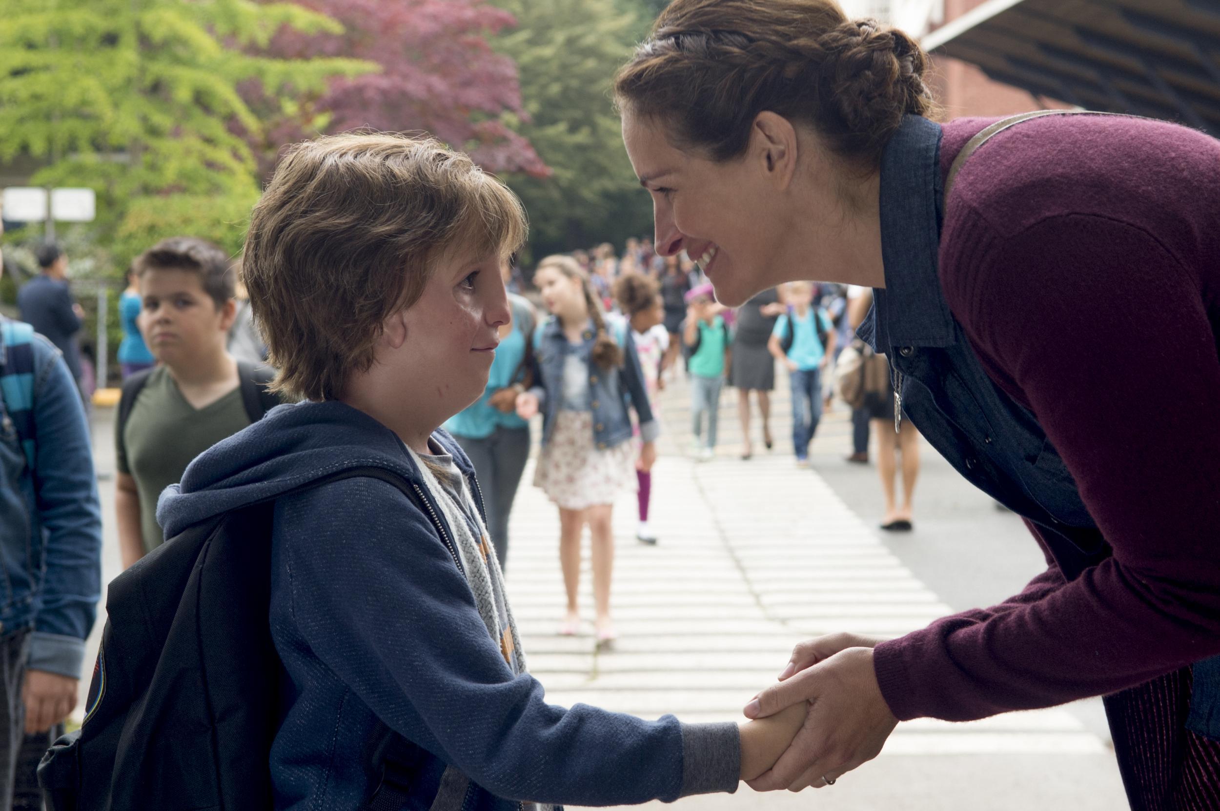 Wonder, Julia Roberts e Jacob Tremblay nel trailer del film strappalacrime