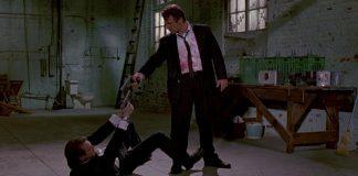 Una scena da Le Iene di Quentin Tarantino