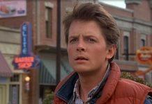 Michael J. Fox in Ritorno al Futuro