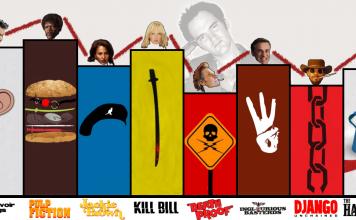 Tutti i film di Tarantino