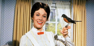 Mary Poppins cocaina Julie Andrews