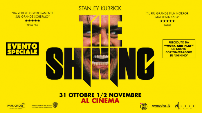 shining torna al cinema