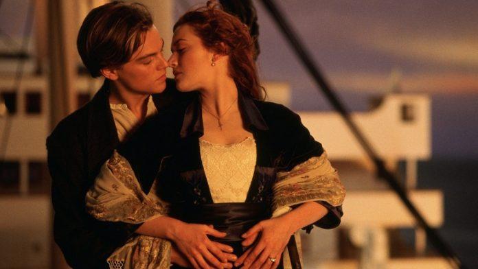 Titanic, Kate Winslet e Leonardo DiCaprio