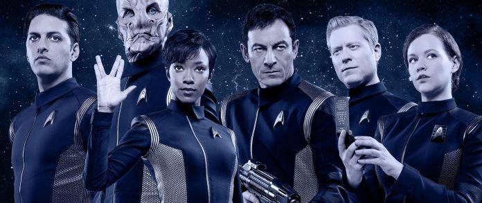 L'equipaggio della USS Discovery nella serie Star Trek Discovery