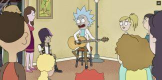 Rick and Morty è una serie animata di Netflix, in cui la colonna sonora, composta da Ryan Elder, cerca di riprodurre bizzarri e originali suoni alieni.
