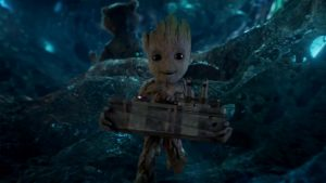 Gront maneggia ingenuo l'ordigno nucleare, in Marvel's Guardians of the Galaxy Vol. 2