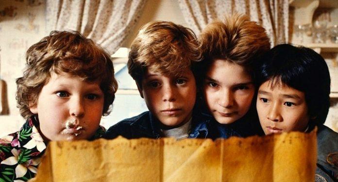 i 4 protagonisti de I Goonies