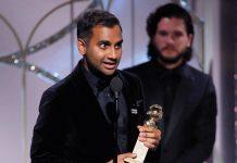 Aziz Ansari riceve il Golden Globe