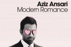 Aziz Ansari nella copertina del suo libro