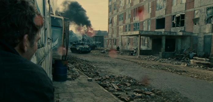 scene d'azione in piano sequenza