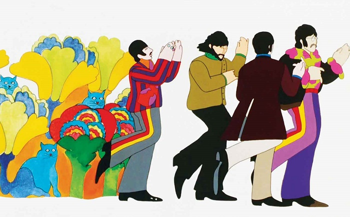 Musica e film yellow submarine lascimmiapensa