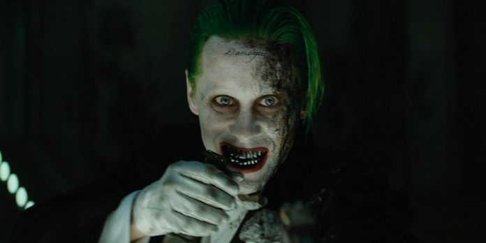 Il Joker di Jared Leto in Suicide Squad.