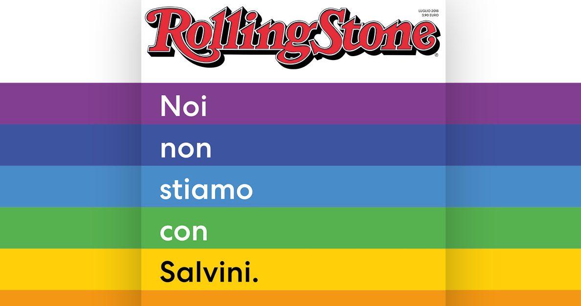 Rolling Stone contro Salvini: Mentana nell'elenco, ma lui si dissocia