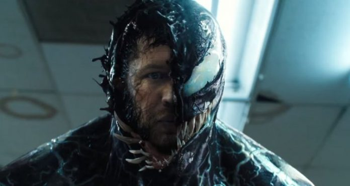Tom Hardy è Venom nel nuovo spettacolare trailer ufficiale