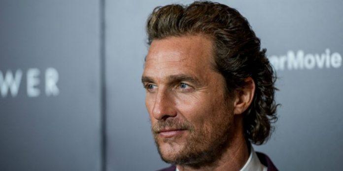 Matthew McConaughey ha salvato la vita a suo figlio ?