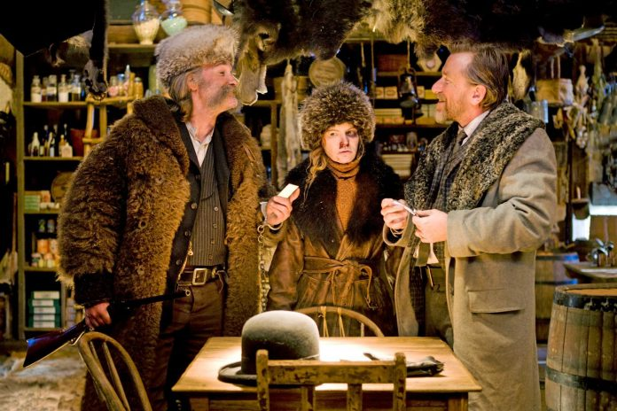 the hateful eight, tarantino, morricone e tarantinomorricone