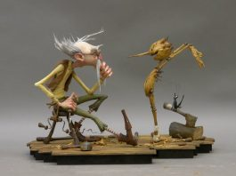 Concept Art di Pinocchio Netflix