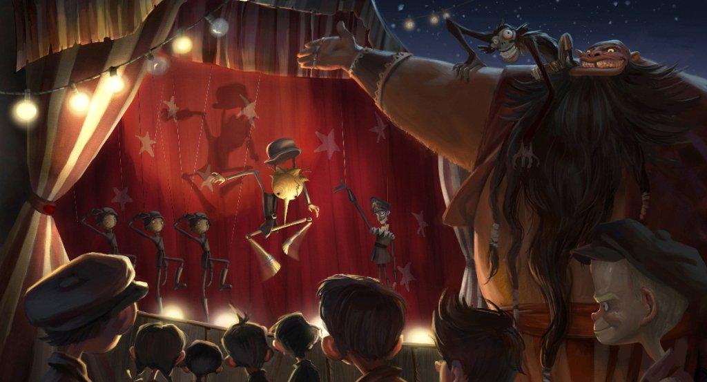 Concept Art di Pinocchio