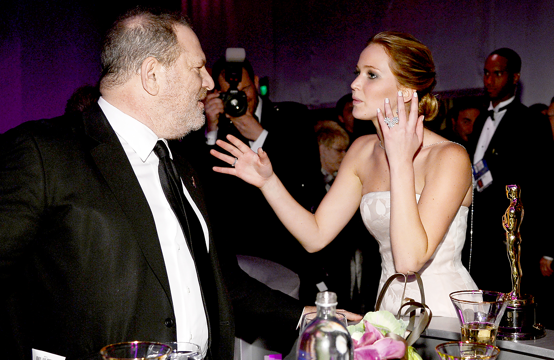 Harvey Weinstein a letto con Jennifer Lawrence? La risposta dell'attrice