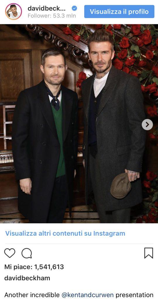 Peaky Blinders: David Beckham crea una linea d'abbigliamento dedicata alla serie