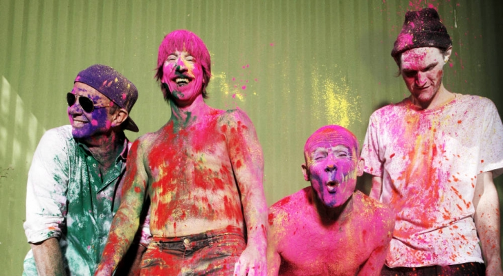 I Red Hot Chili Peppers suoneranno tra le Piramidi d'Egitto