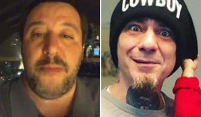 Salvini contro J Ax nel primo dissing rap-politica del 2019