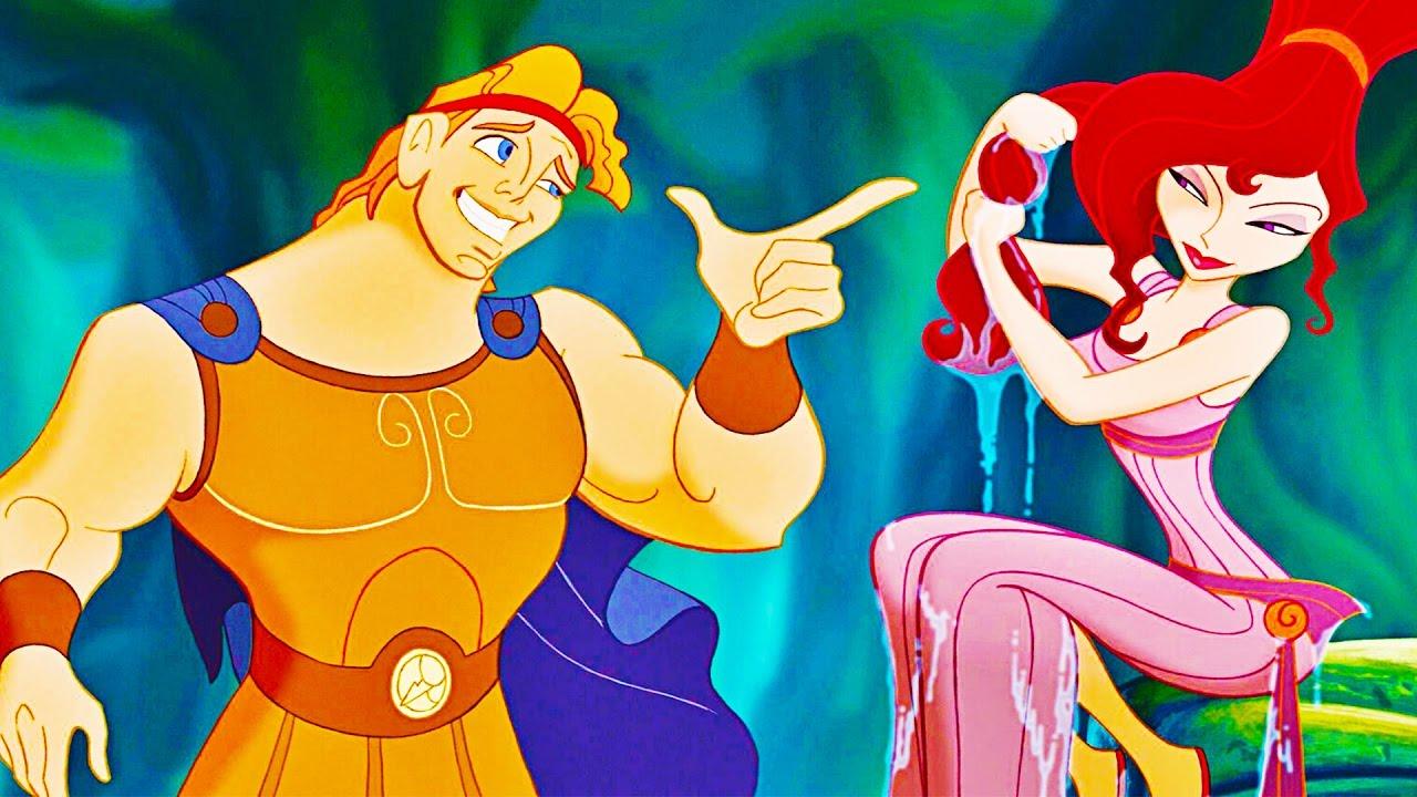 Immagine tratta da Hercules, il film Disney. il film è tra le scadenze netflix