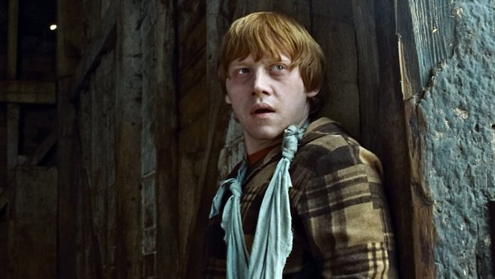 Ron Wesley in Harry Potter