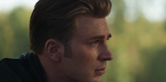 Captain America piange in Avengers: Endgame