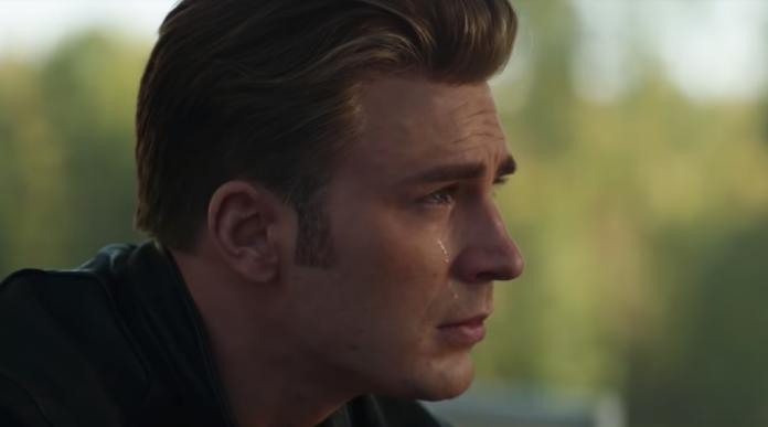 Captain America piange in Avengers: Endgame