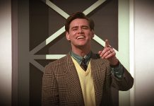Jim Carrey in una scena di The Truman Show