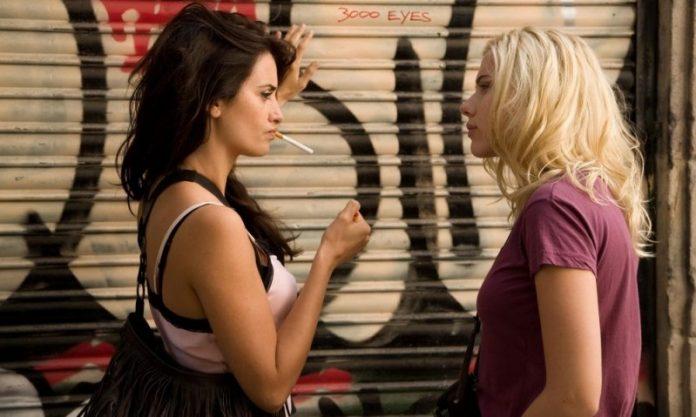 Scarlett Johansson: ''Voglio baciare di nuovo Penélope Cruz''
