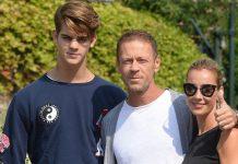 Rocco Siffredi e famiglia