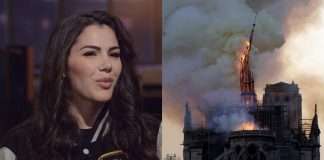 Valentina Nappi: ''Ho goduto nel vedere Notre-Dame bruciare''