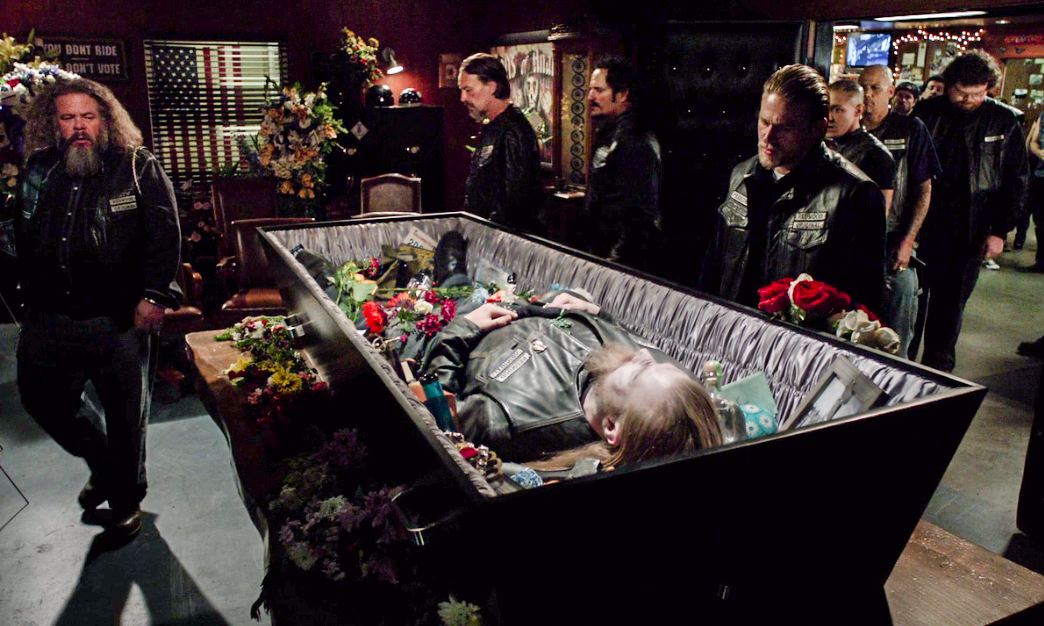 Funerale Opie Sons of Anarchy