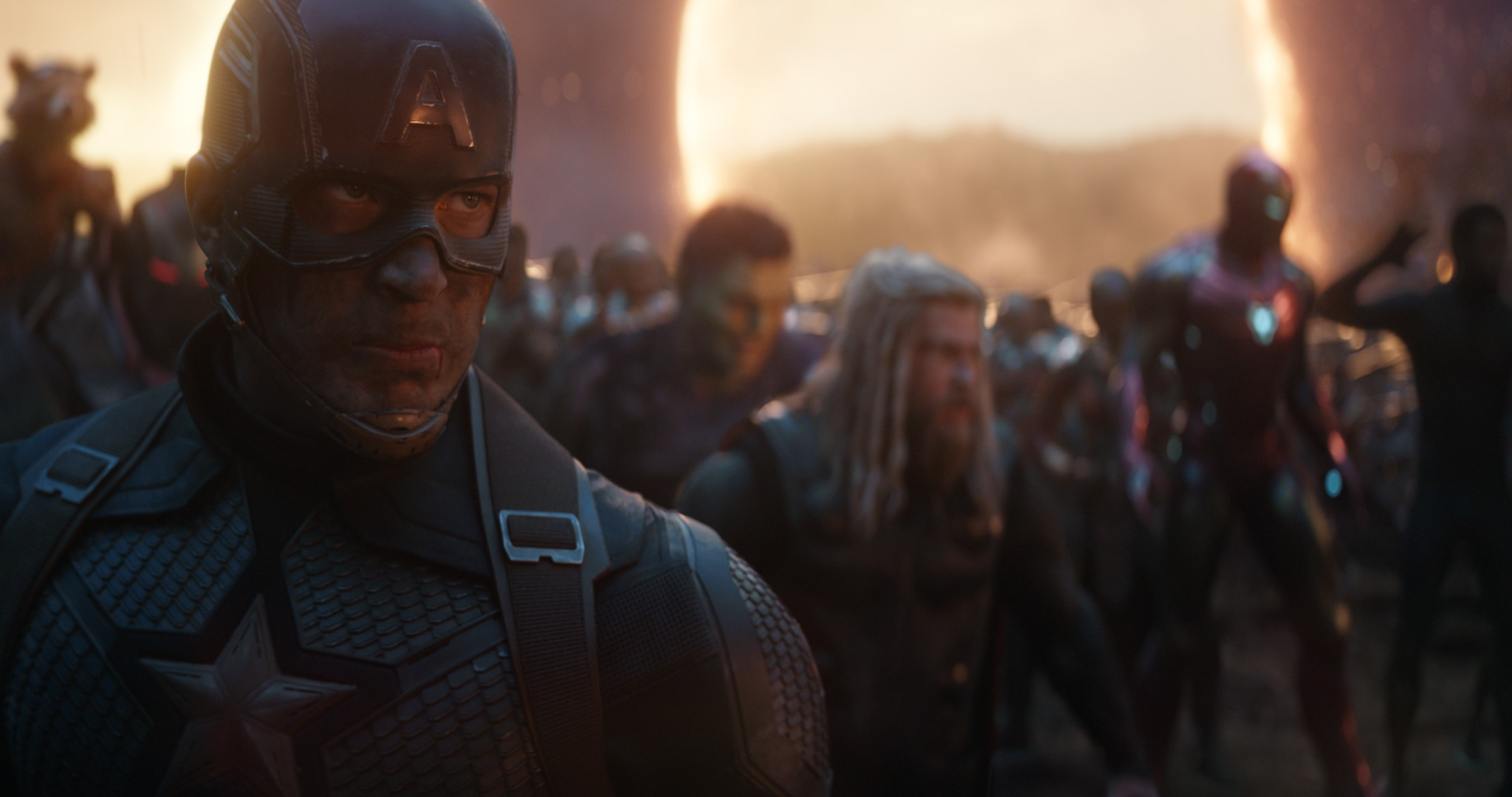 Captain America nella battaglia finale di Avengers: Endgame
