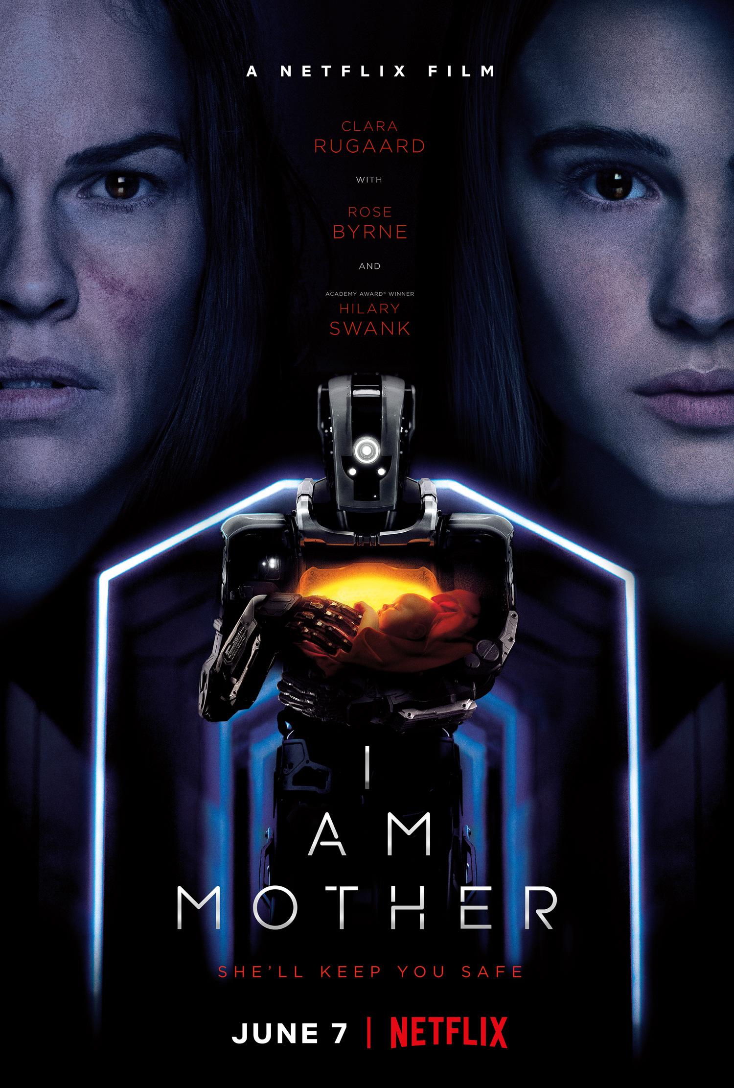 I am Mother, poster del film Netflix