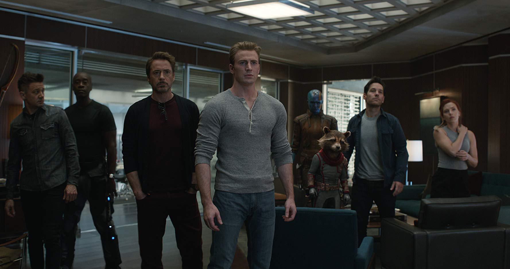 Avengers: Endgame gli eroi