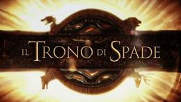 Il Simbolo del Il Trono di Spade nella sigla Italiana della Serie TV