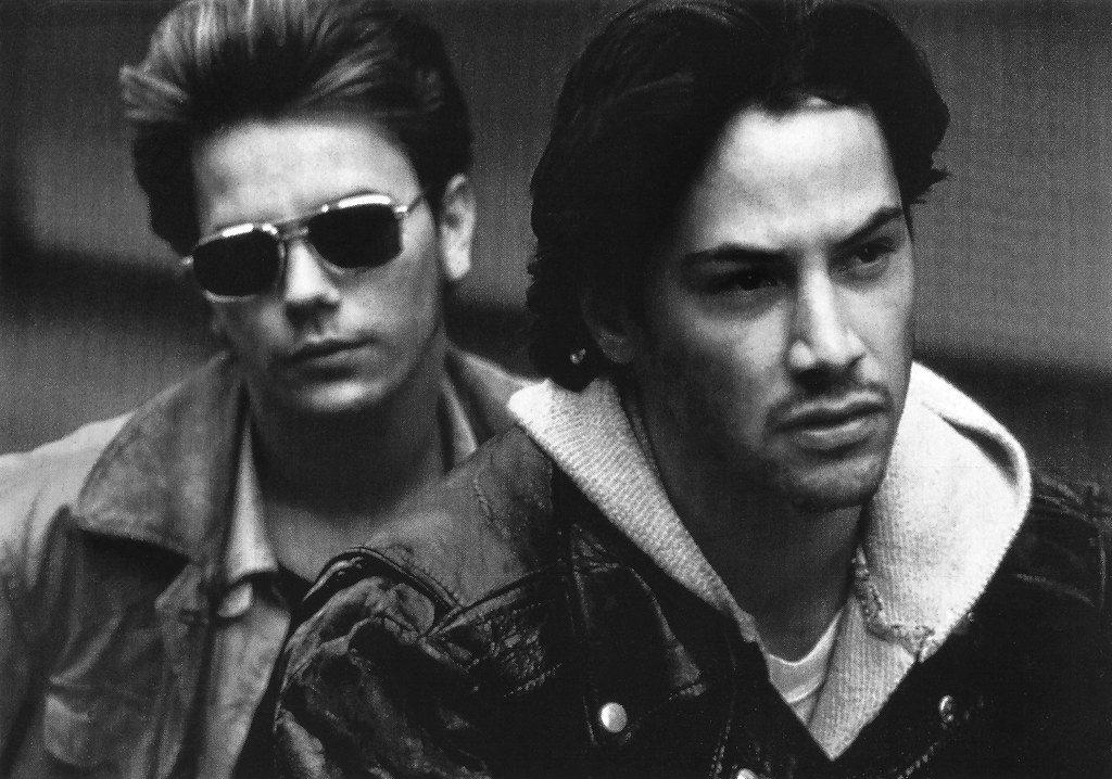 River Phoenix e Keanu Reeves