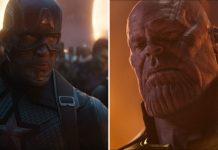 Avengers: Endgame, Cap e Thanos