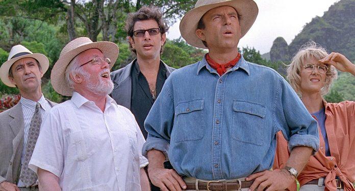 Jurassic Park, film di Spielberg