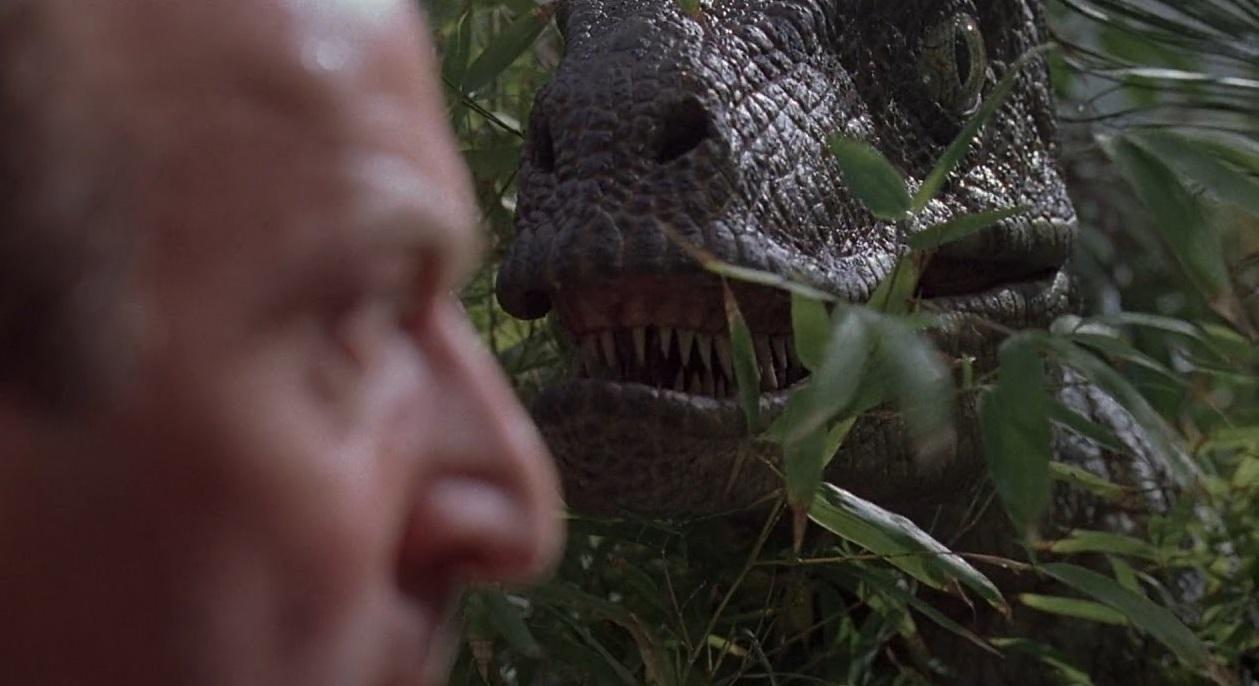 Velociraptor in Jurassic Park