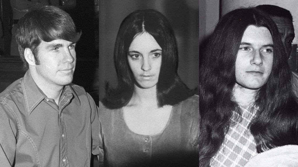 Tex Watson,Susan Atkins, Patricia Krenwinkel