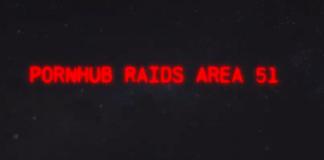 PornHub rilascia il Video Parodia dell'invasione all'Area 51