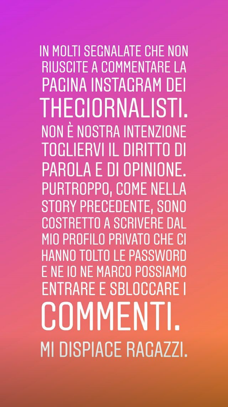 thegiornalisti tommaso paradiso password instagram