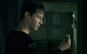Keanu Reeves in Matrix del 1999