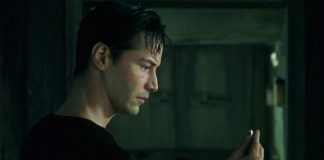 Keanu Reeves in Matrix del 1999